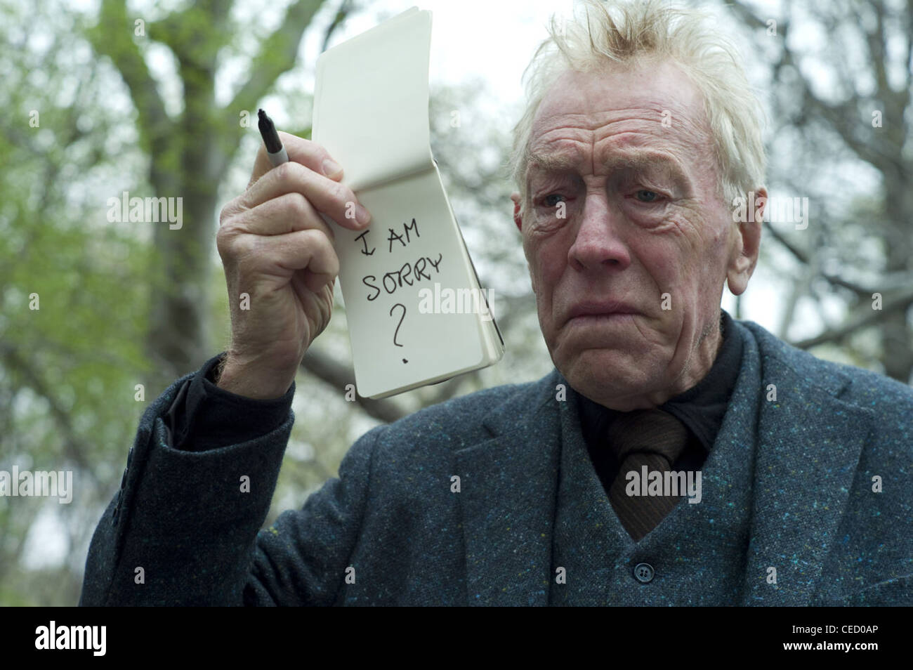EXTREMELY LOUD AND INCREDIBLY CLOSE (2011) MAX VON SYDOW STEPHEN DALDRY (DIR) 004 MOVIESTORE COLLECTION LTD - Stock Image