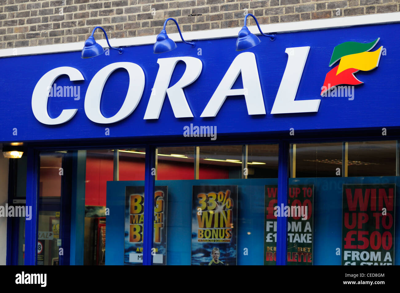 coral betting shop redditch standard