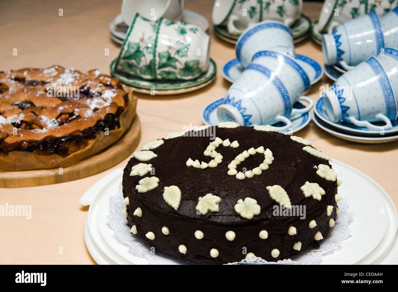 50th Birthday Cake High Resolution Stock Photography And Images Alamy