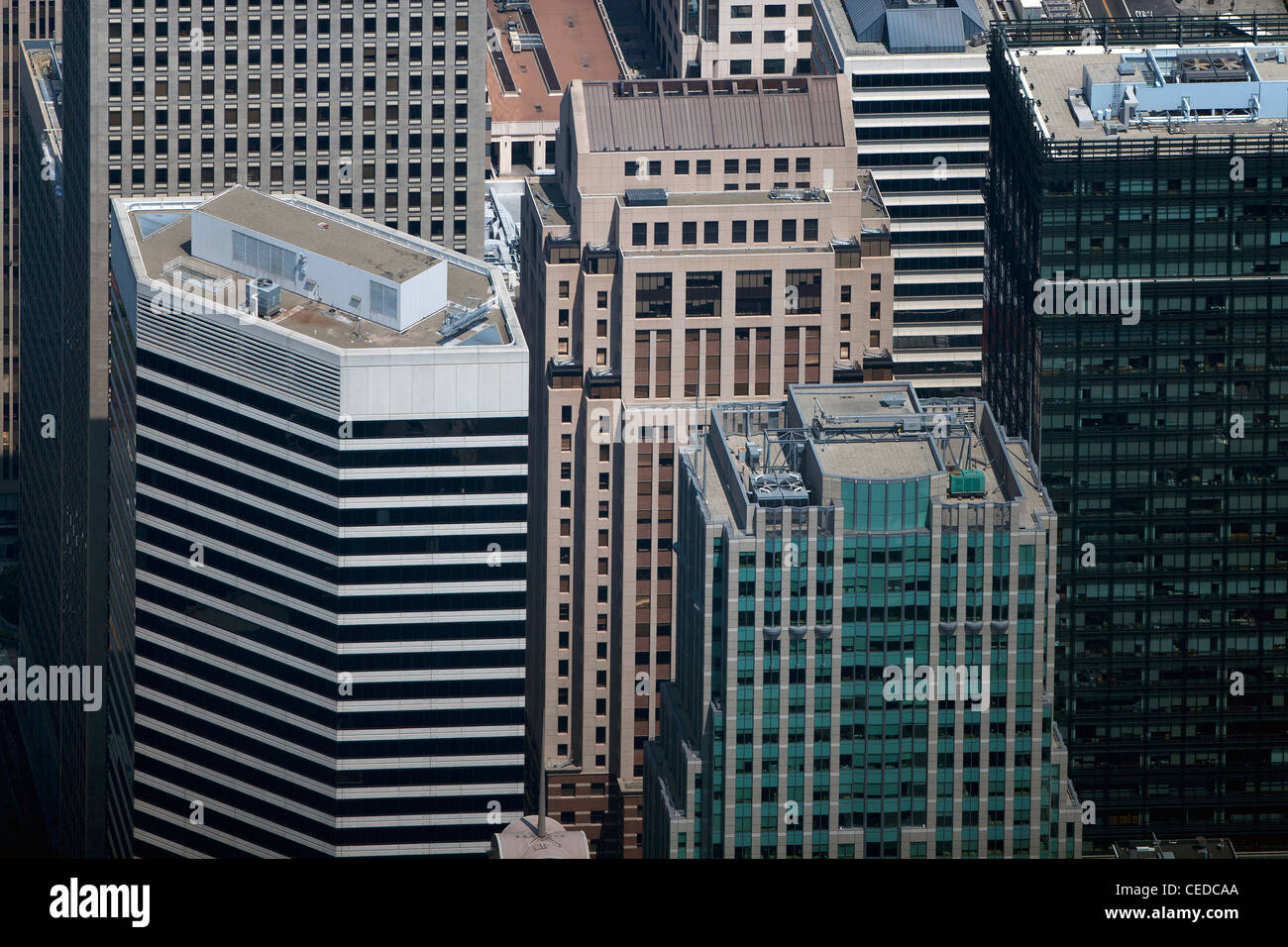 Aerial Photograph 595 Market 55 Second St San Francisco California USA
