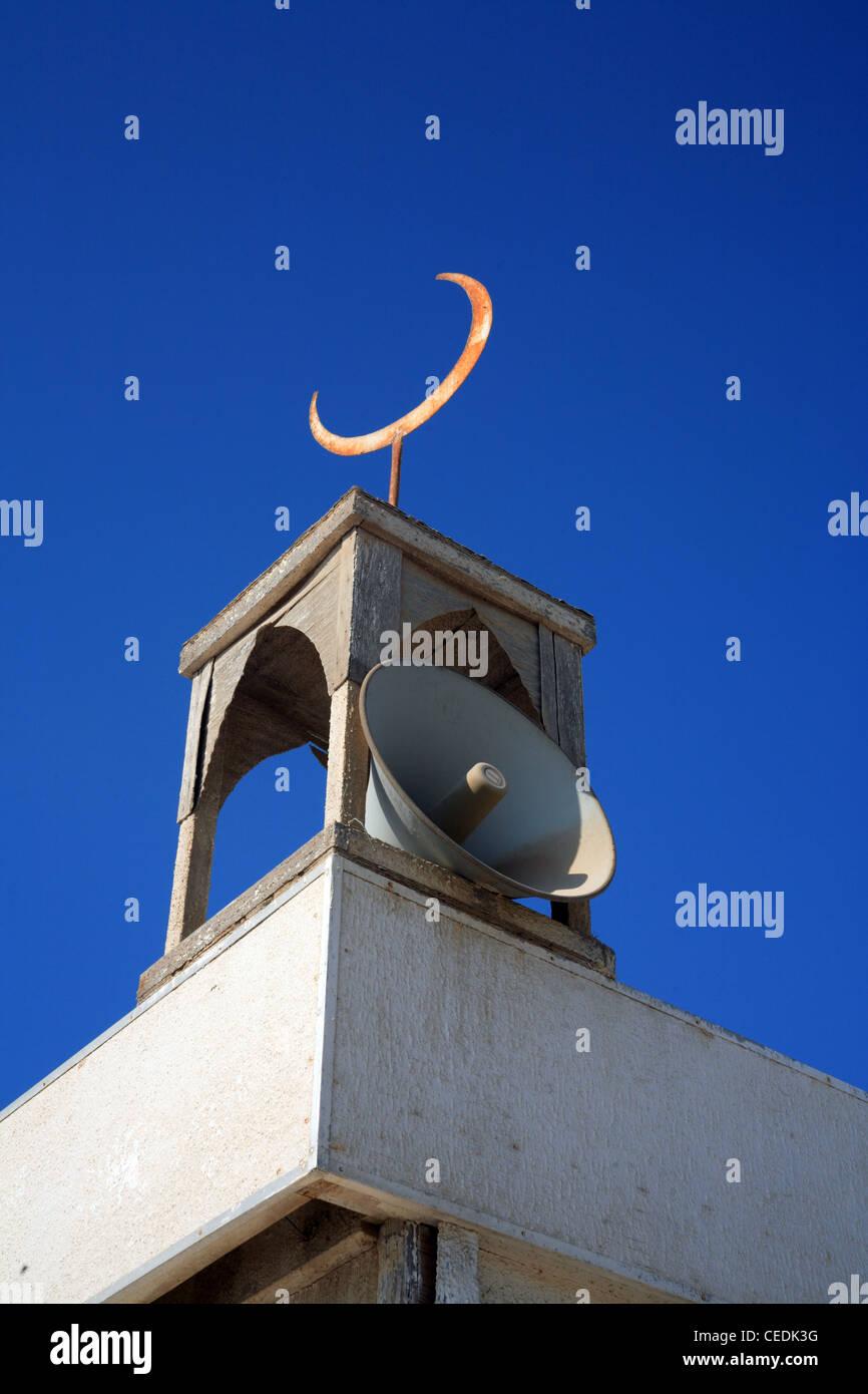 Call to prayer loud hailer. Doha, Qatar - Stock Image
