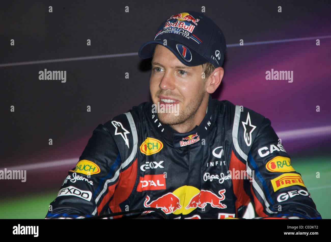 Sebastian Vettel, Red Bull Racing Formula One team - Stock Image