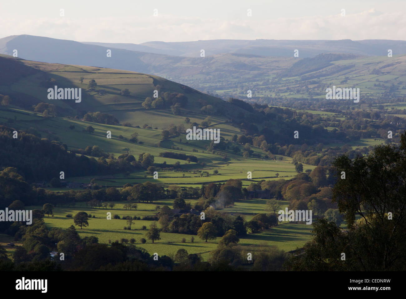 peak district national park derbyshire england uk - Stock Image