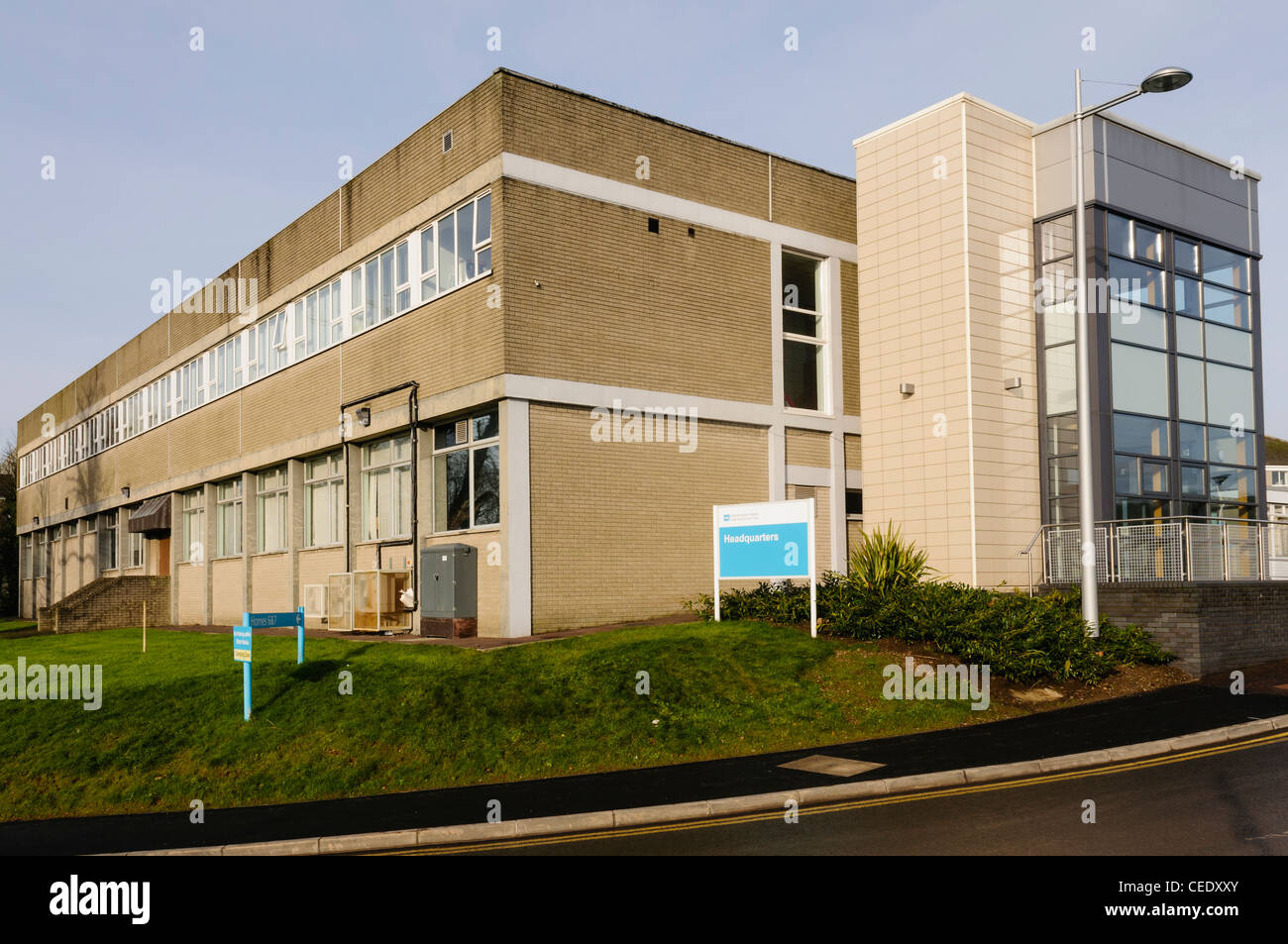 Headquarters for the South Eastern Health and Social Care Trust - Stock Image