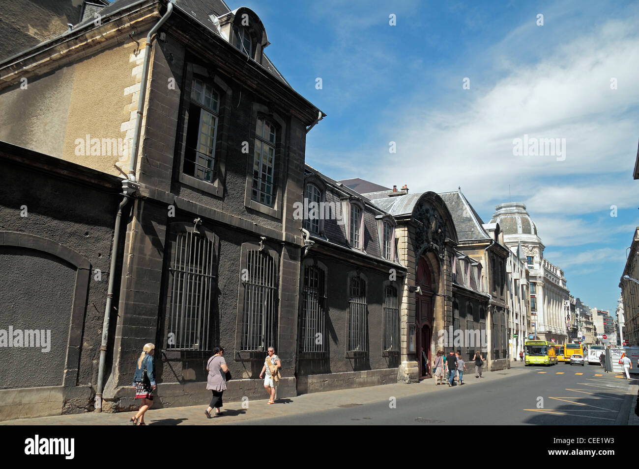 The Musée des Beaux-arts (The Museum of Fine Arts) in Reims, Champagne-Ardenne, France. Stock Photo