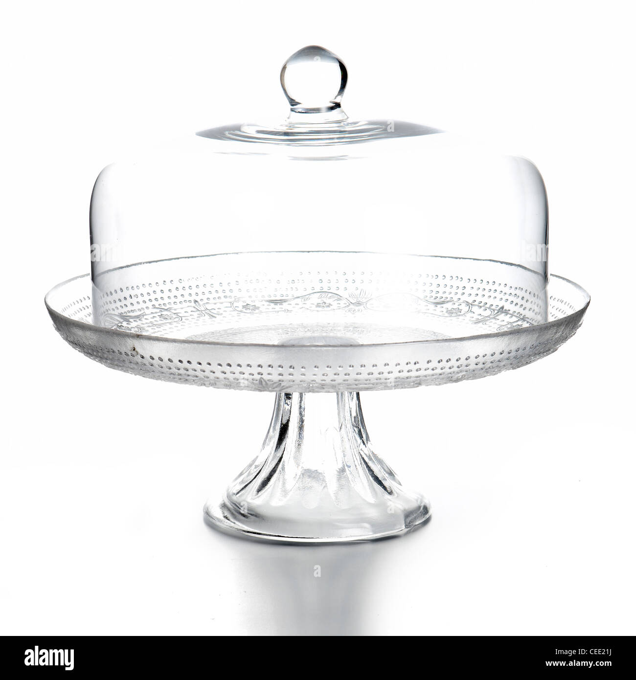 empty glass cake stand and dome cover  sc 1 st  Alamy & empty glass cake stand and dome cover Stock Photo: 43334862 - Alamy