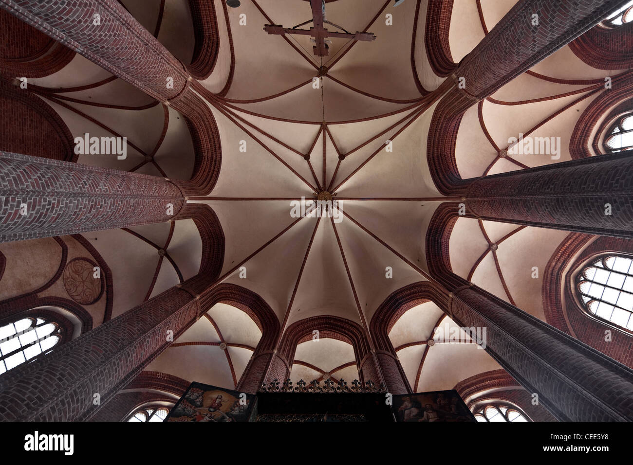 Stendal, Marienkirche - Stock Image