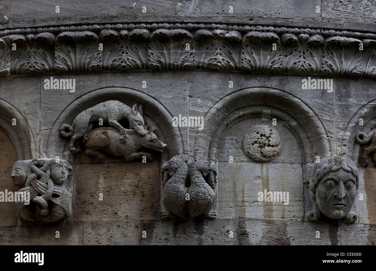 Königslutter am Elm, Stiftskirche (Kaiserdom) - Stock Image