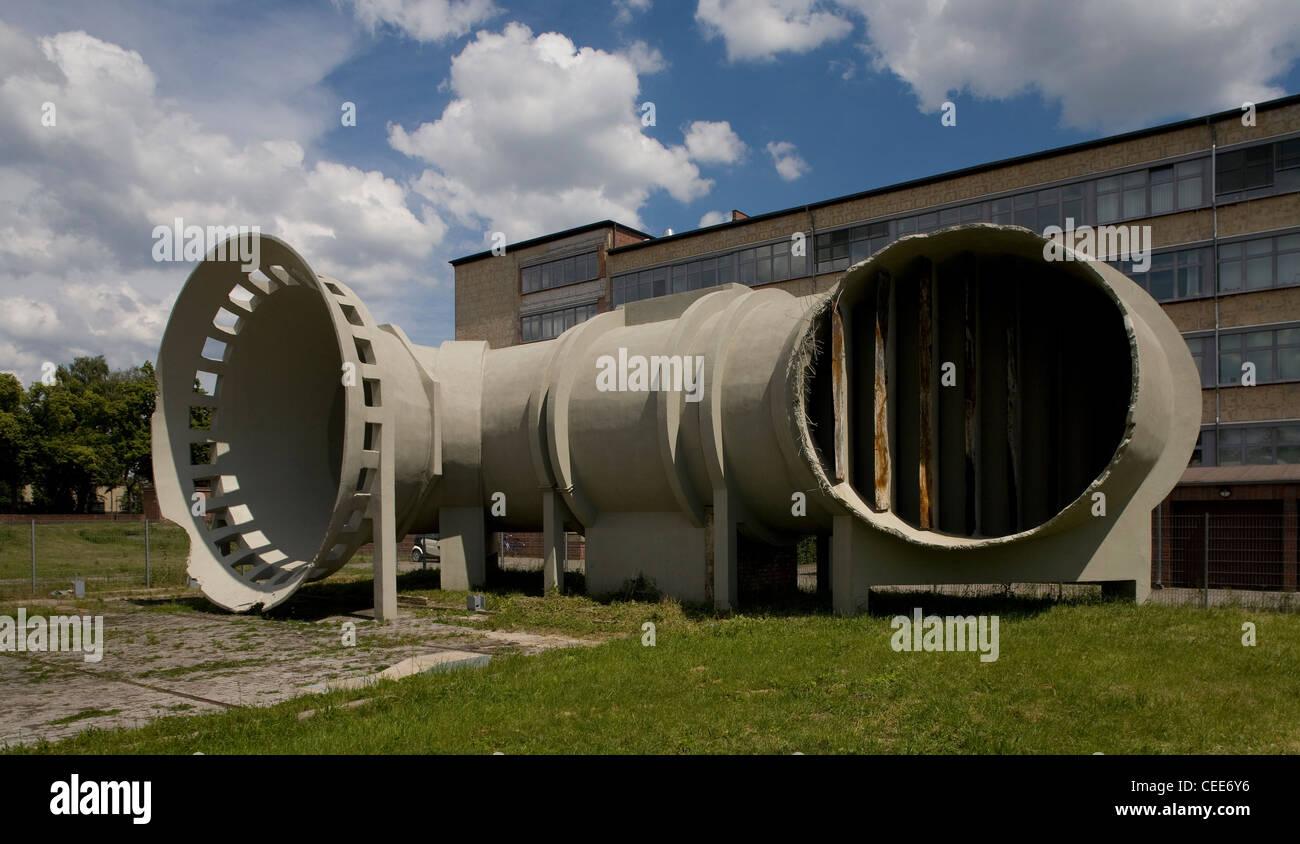 Dessau, Junkers Flugzeug- und Motorenwerke - Stock Image