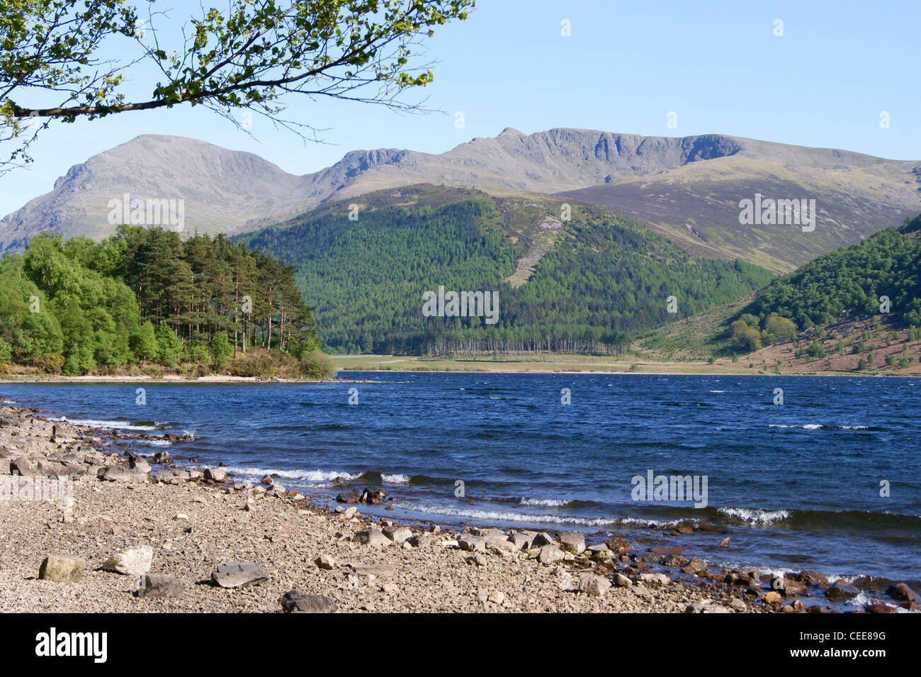 Ennerdale Water, beautiful peaceful with outstanding views, unspoiled with majestic Fells all around - Stock Image