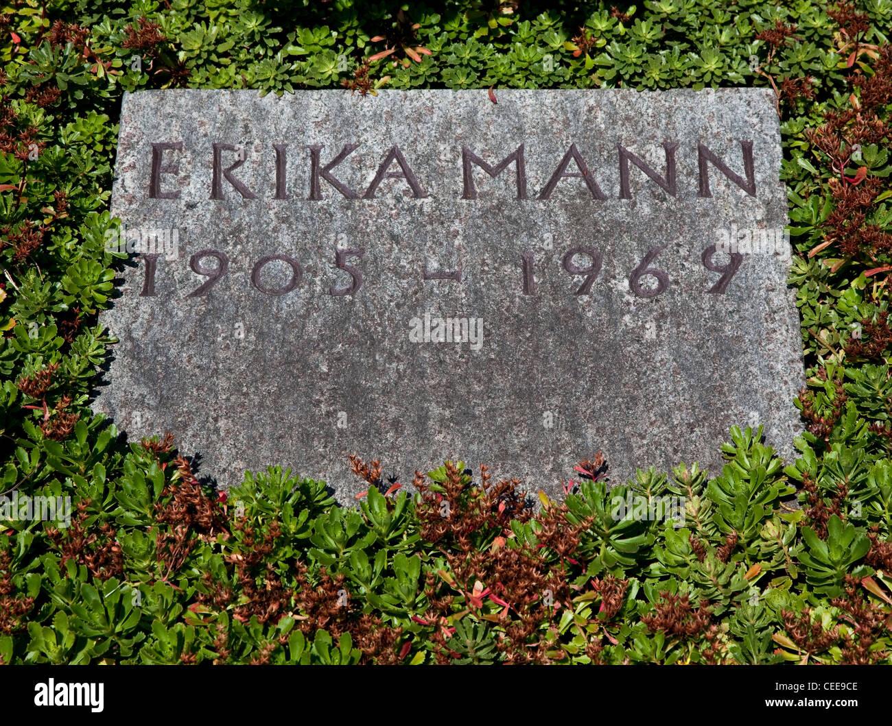 Kilchberg bei Zürich, Friedhof - Stock Image