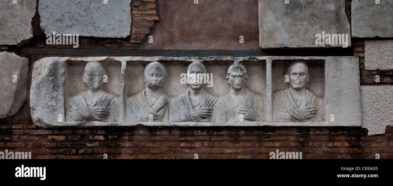 Rom, Via Appia - Stock Image