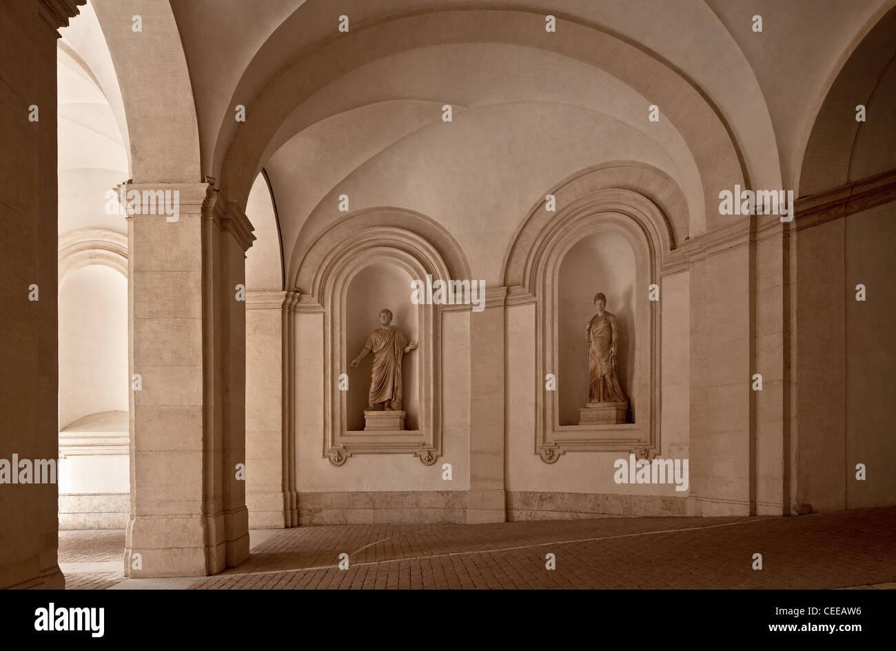 Rom, Palazzo Barberini Stock Photo