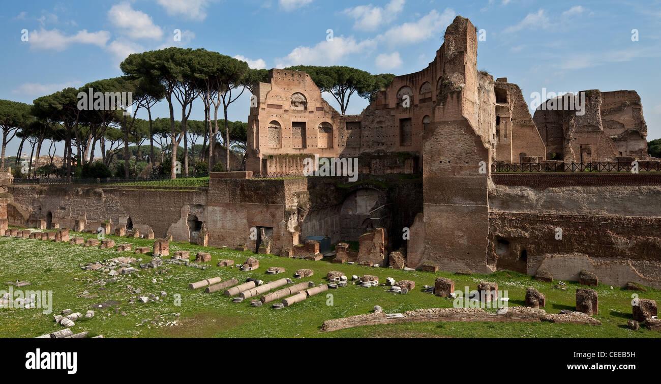 Rom, Palatin - Stock Image
