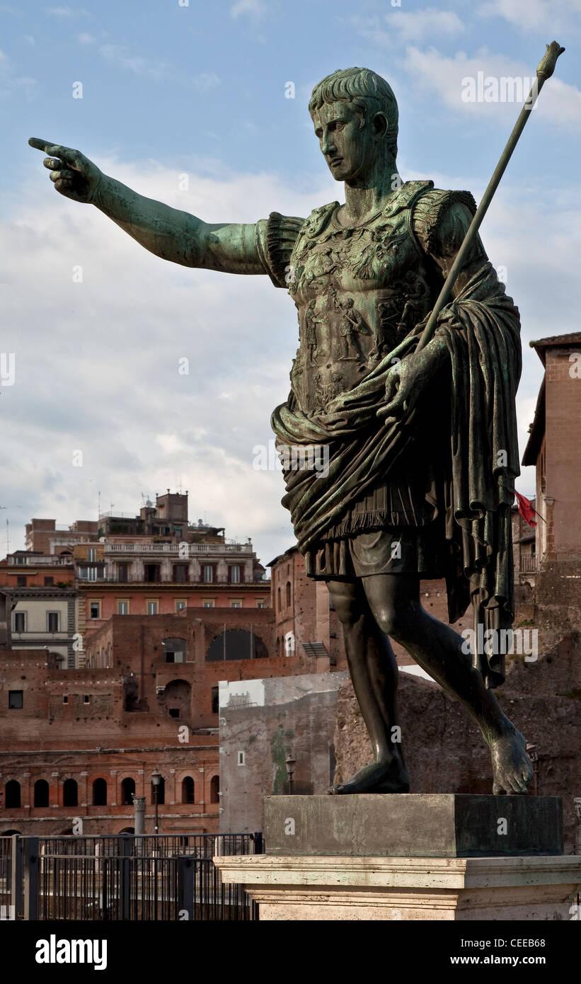 Rom, Via dei Fori Imperiali - Stock Image