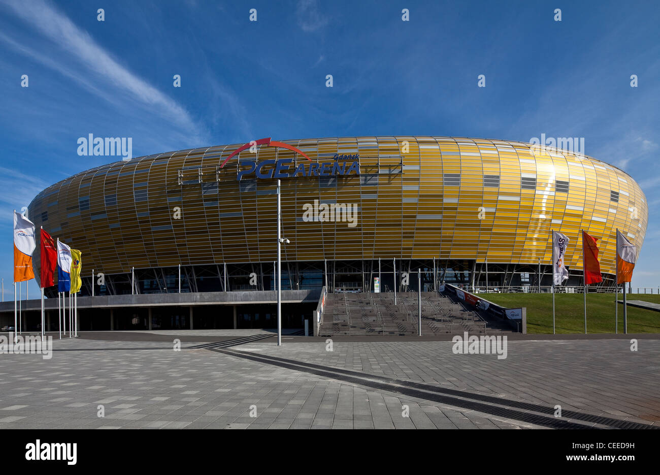Danzig/Gdansk, PGE Arena - Stock Image
