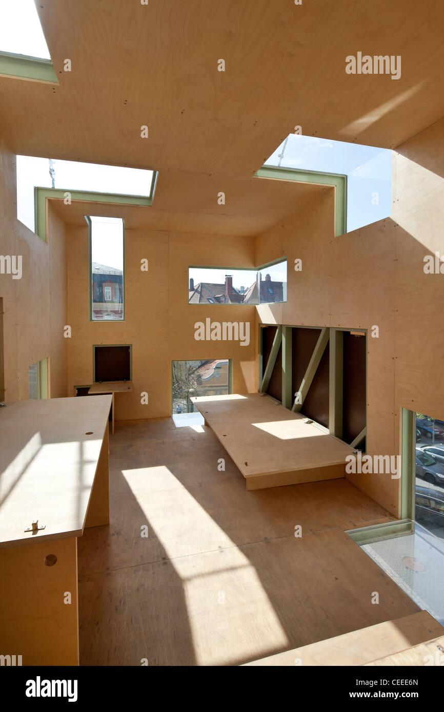 Bamberg, Rucksackhaus, Bacbegehbare Kunstinstallation \