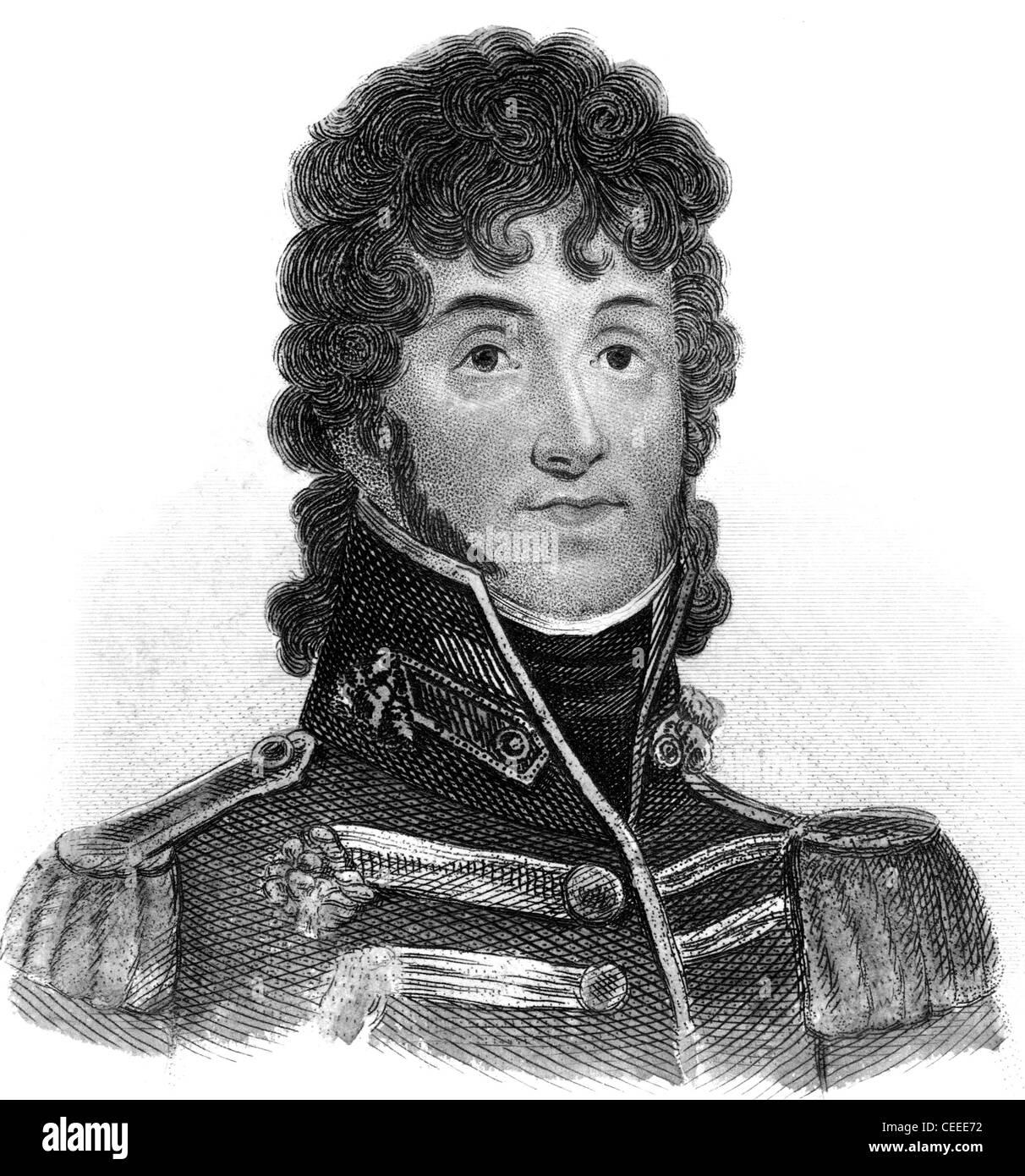Joachim Murat King of Naples from 1808 - Stock Image