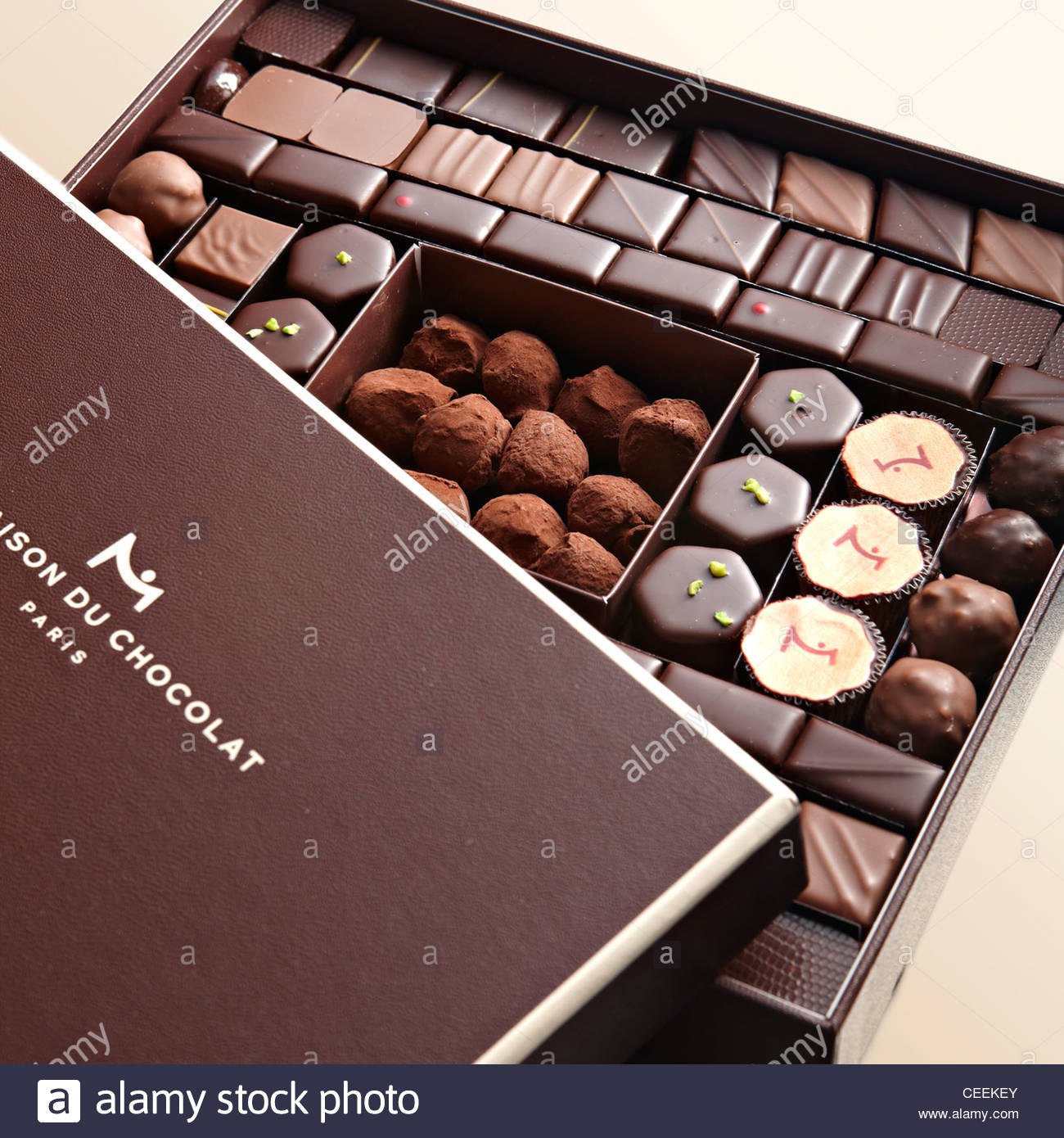 Kids Stock A Wide Selection Of Luxury Premium Cotton: Luxury Large Box Chocolate Selection Stock Photo: 43348563