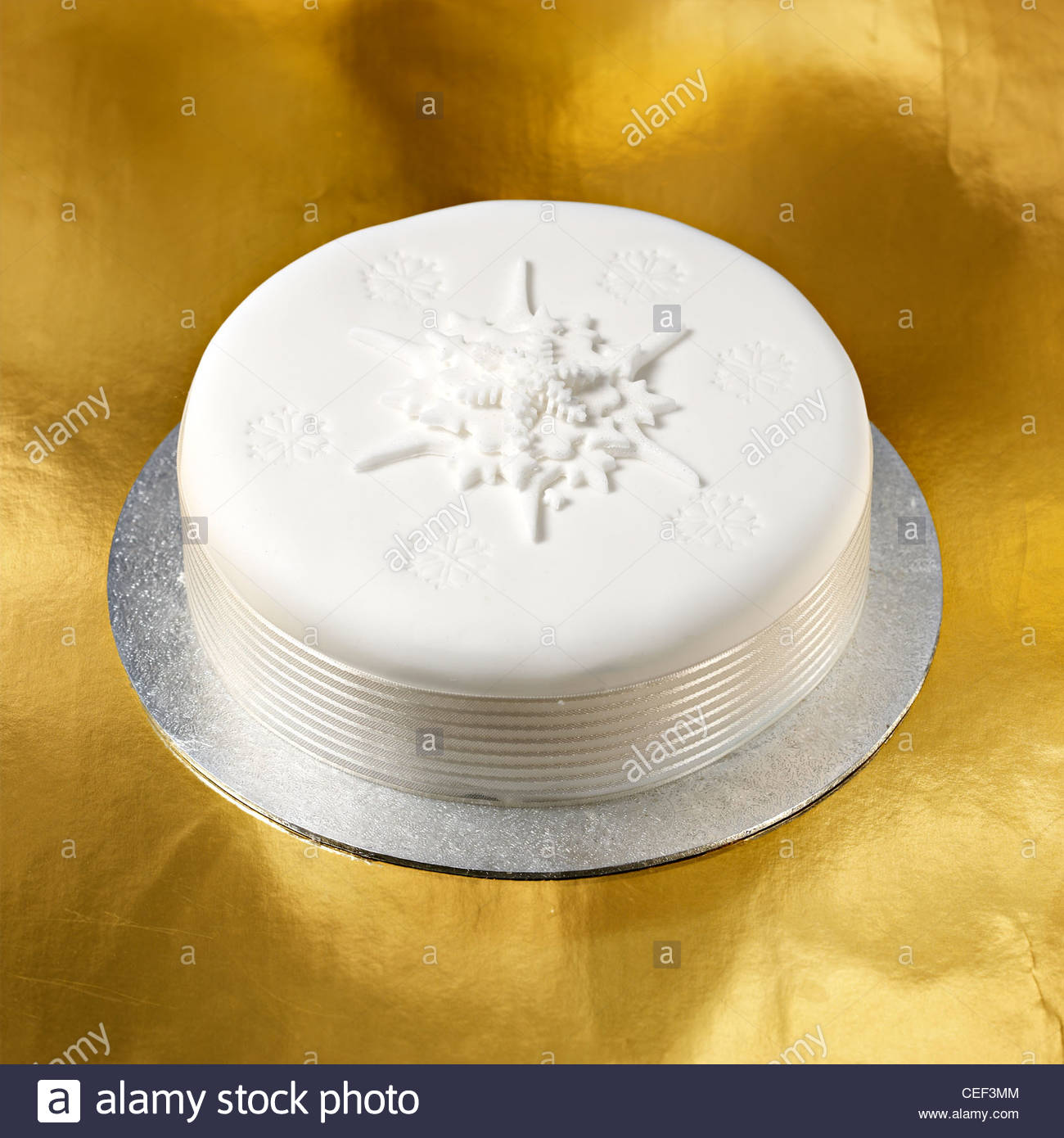 Outstanding Waitrose White Snow Flaked Iced Xmas Cake Stock Photo 43358132 Funny Birthday Cards Online Inifofree Goldxyz