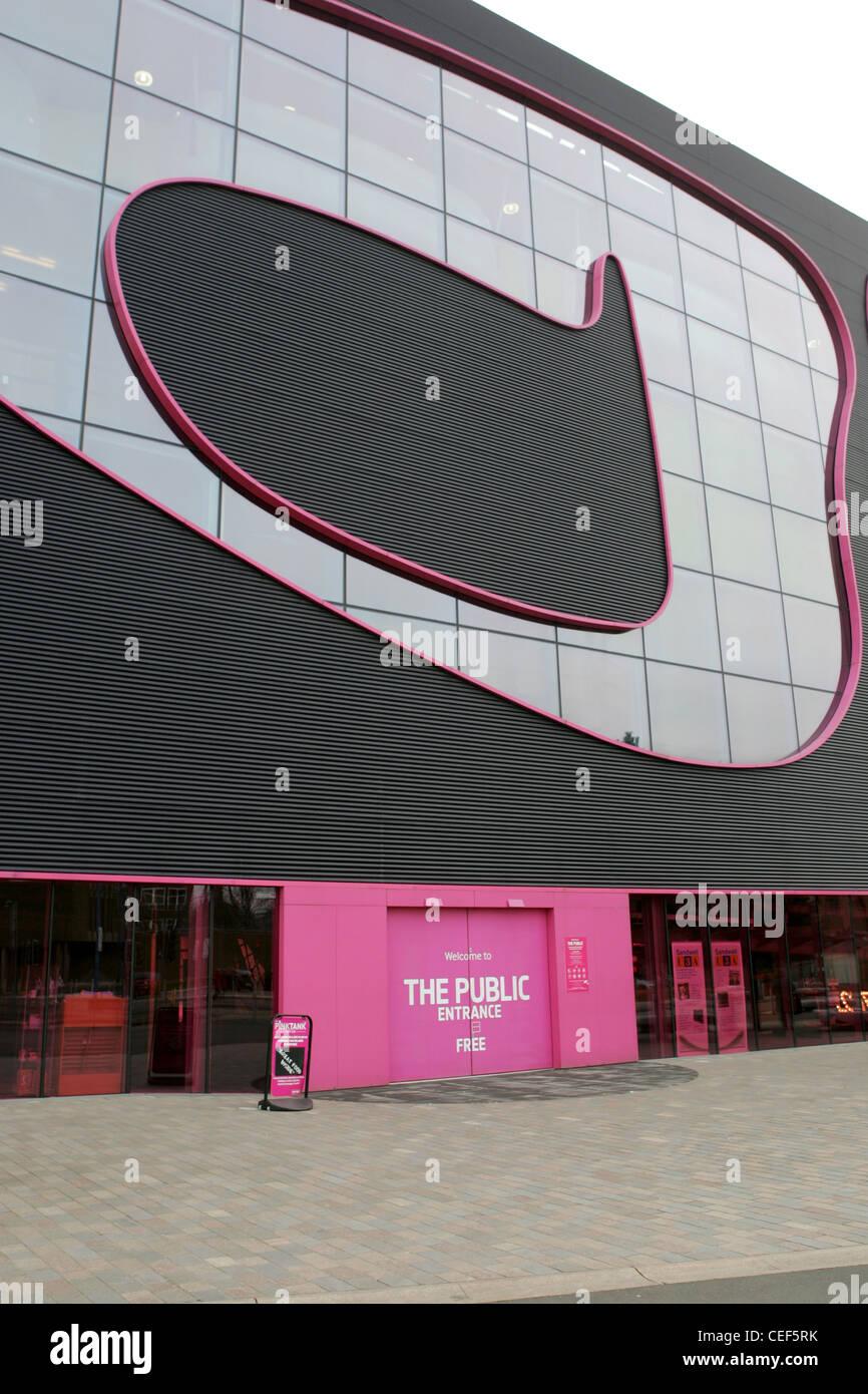 the public west bromwich feb 2012 - Stock Image