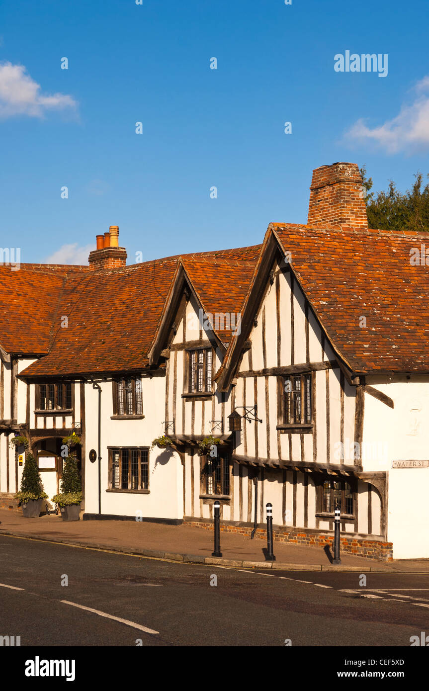 The Swan Hotel in Lavenham , Suffolk, England , Britain , Uk - Stock Image