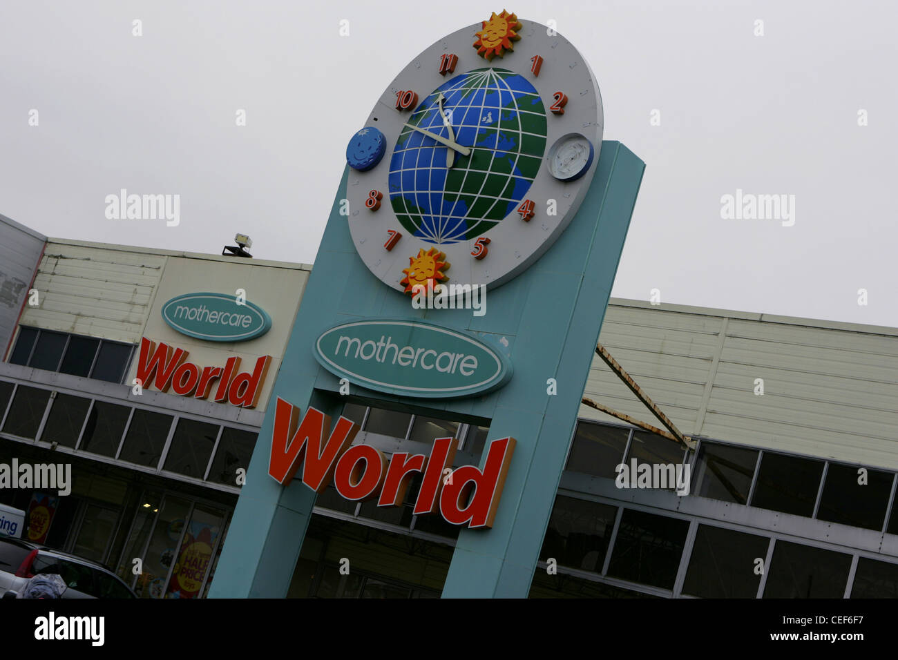 mothercare world, merry hill, west midlands, feb 2012 - Stock Image