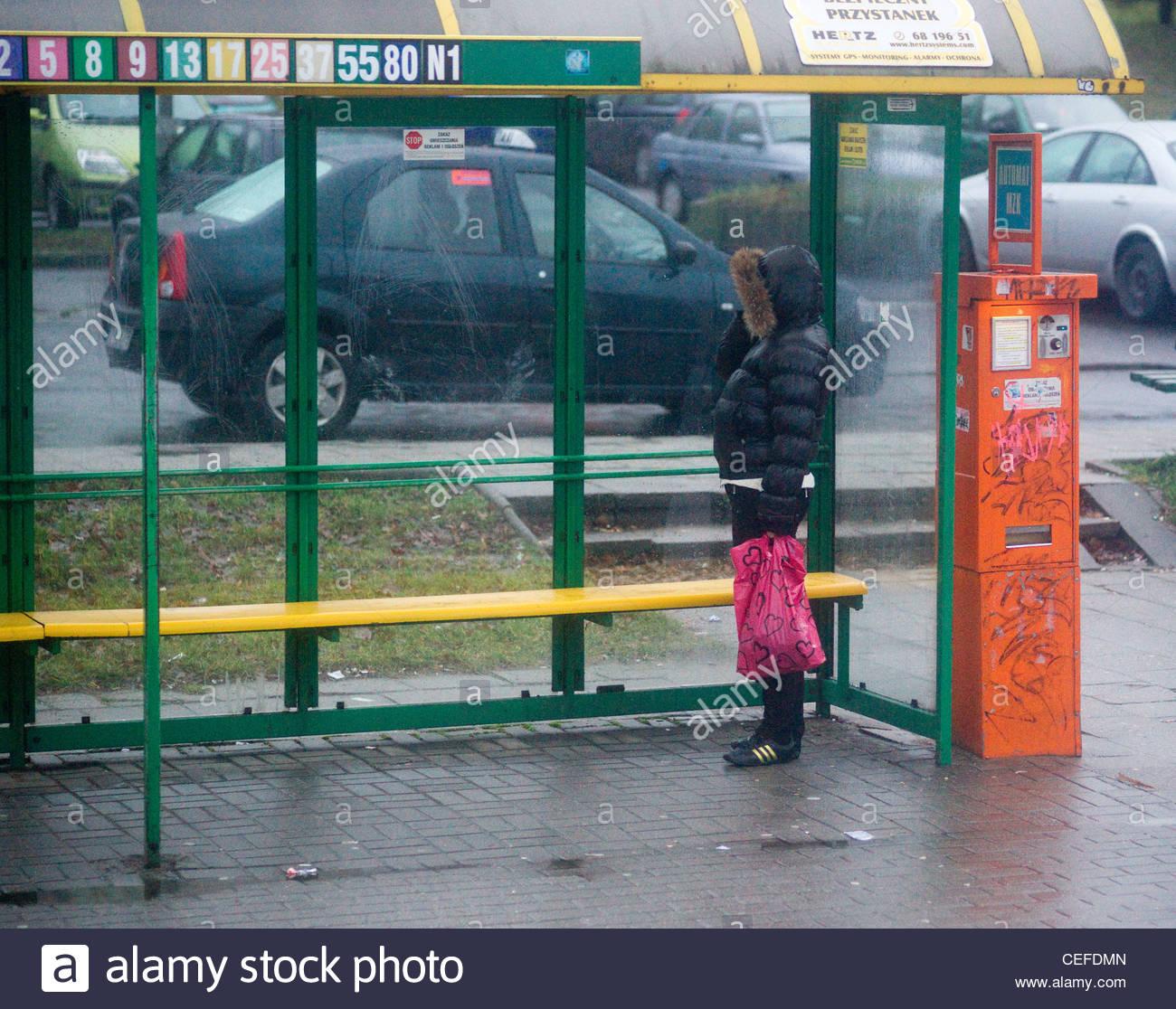 poland wroklaw tram trams tr - Stock Image