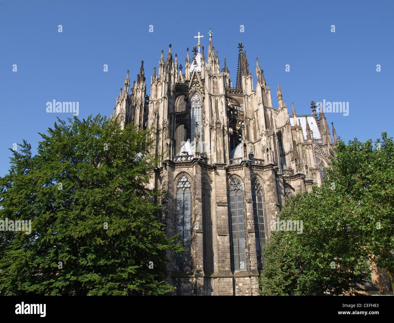 Koelner Dom (Cologne Cathedral) in Koelne, Germany Stock Photo