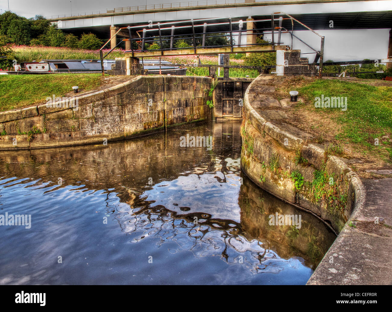 Canal Lock - Stock Image
