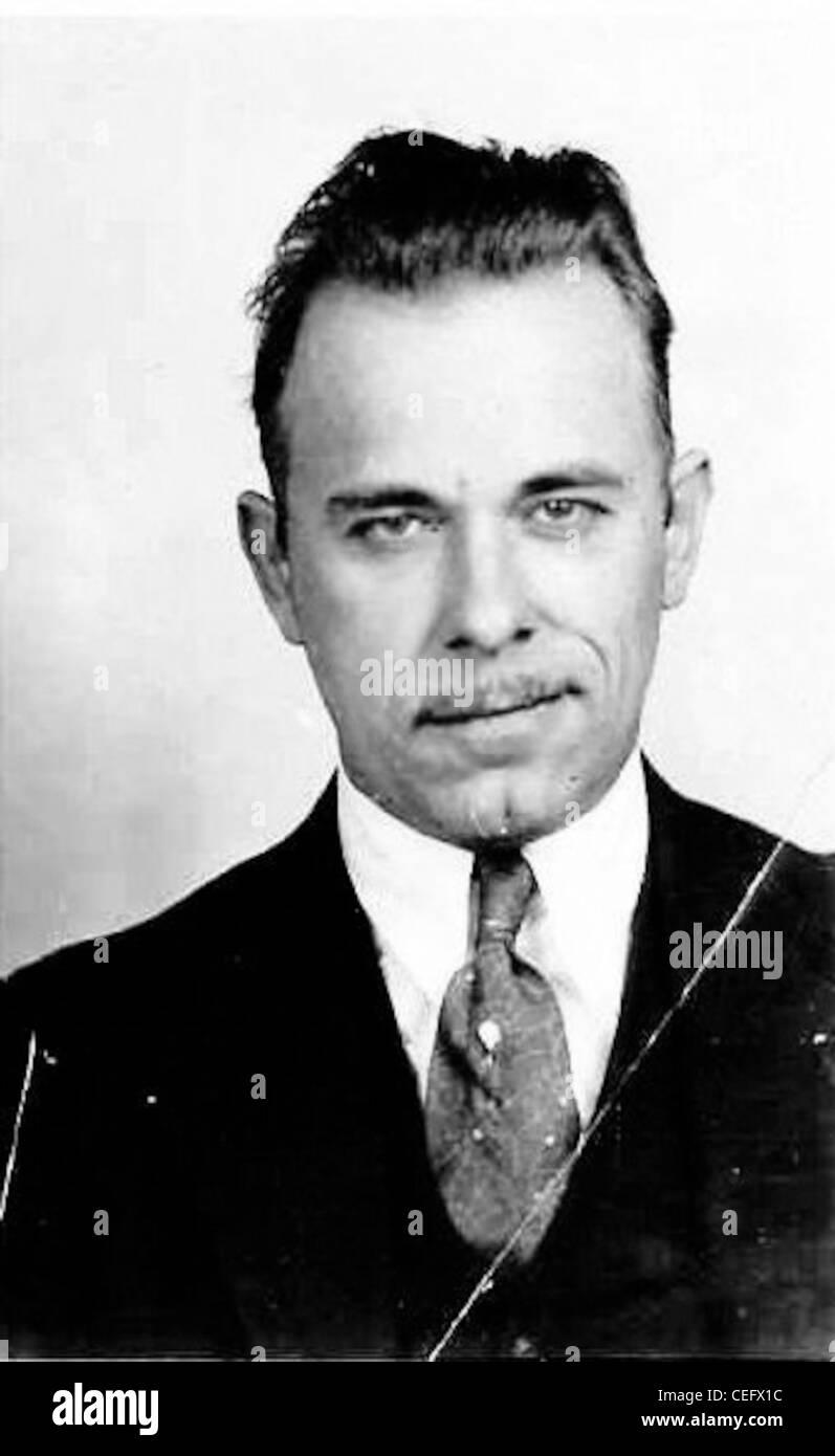 John Dillinger   John Dillinger - Stock Image