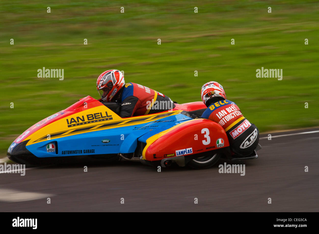 Racing Sidecar Stock Photos Images Alamy Tt2011 Sidecars A Photograph Of Formula 2 Outfit At Castle Combe Image