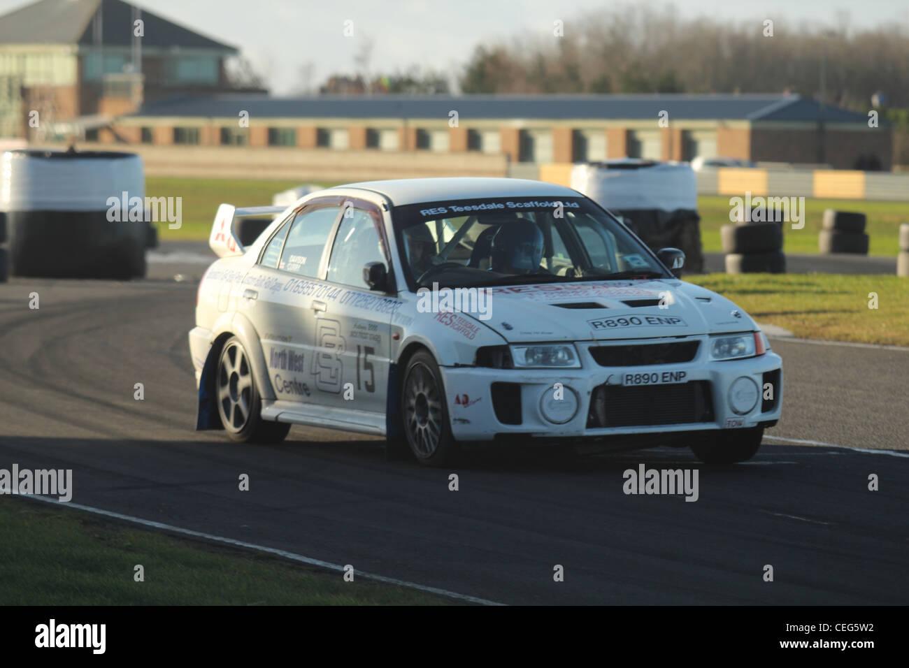 Mitsubishi Evo Rally Car Stock Photos & Mitsubishi Evo Rally Car ...