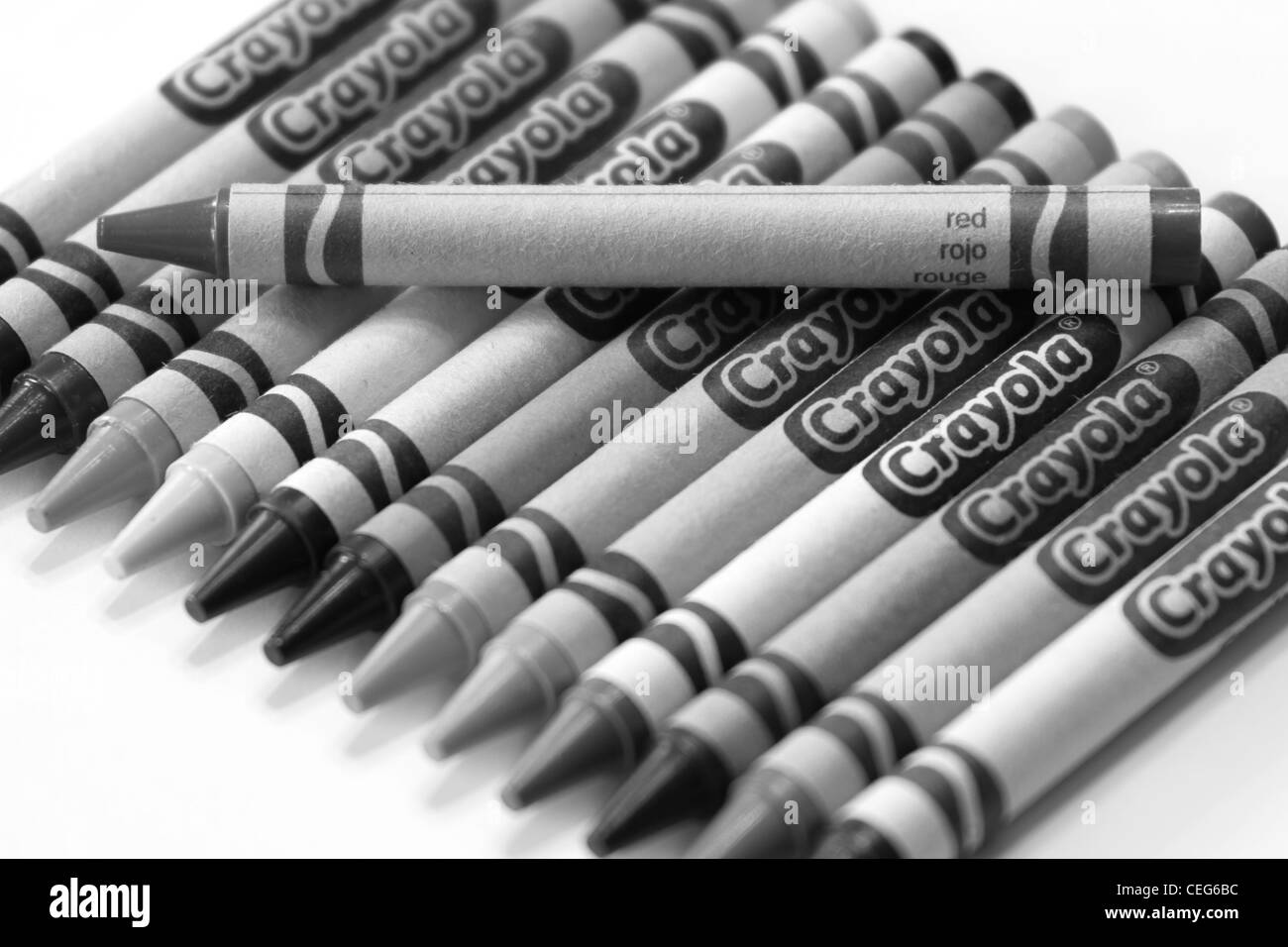 Crayola Crayon Stock Photos & Crayola Crayon Stock Images - Alamy