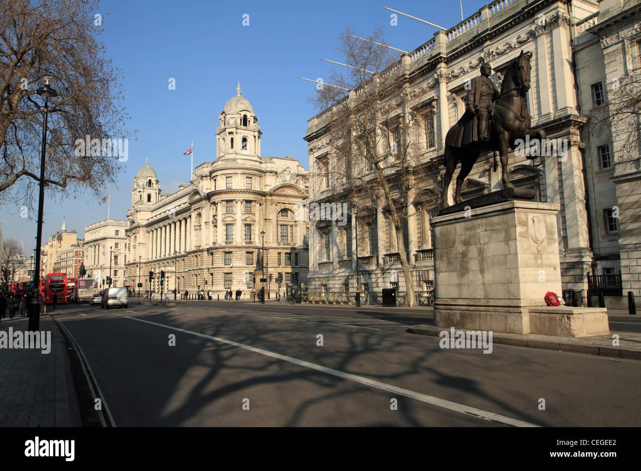 Whitehall, London, UK - Stock Image