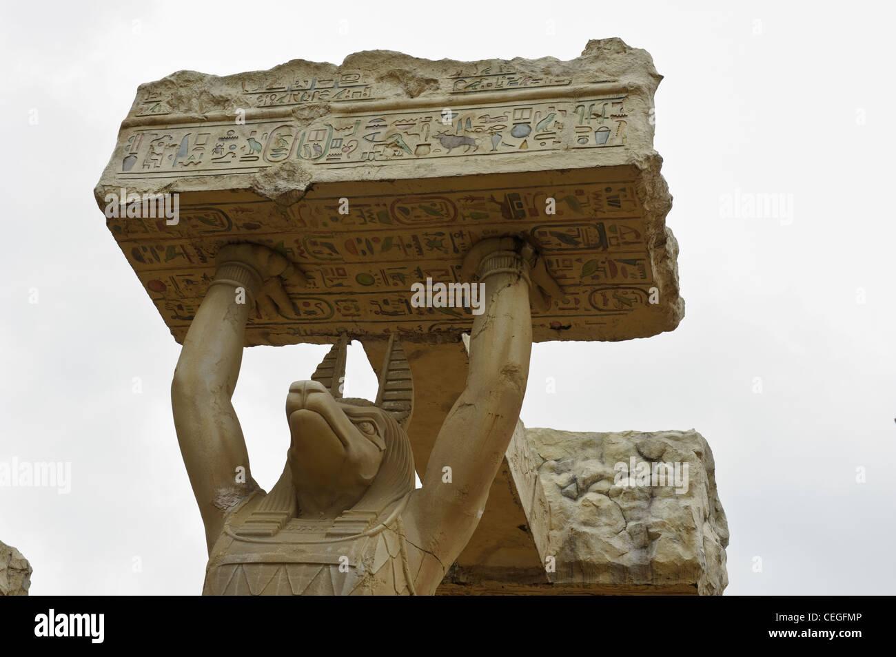 Giant Anubis Statues, Ancient Egypt, Universal Studios