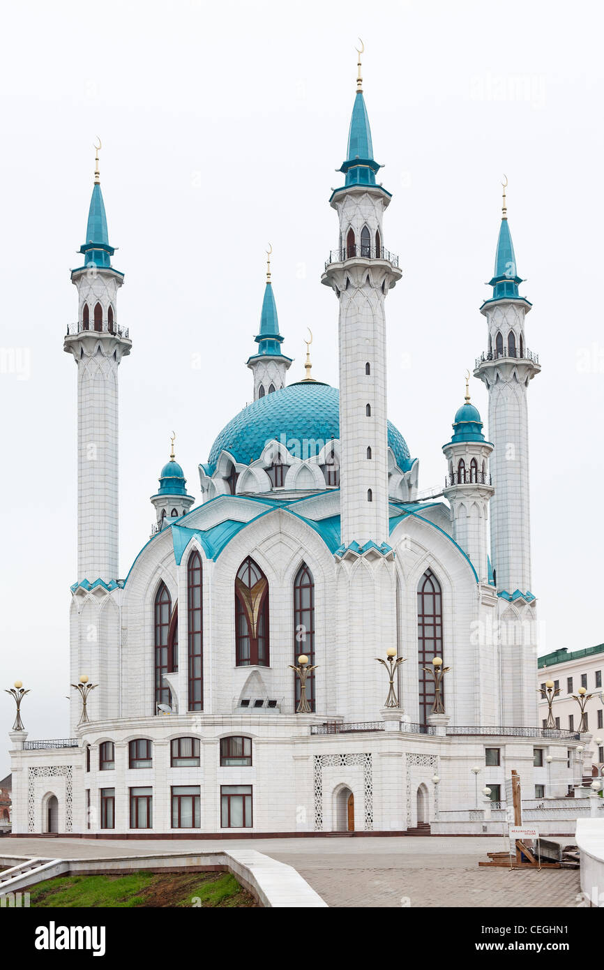 Kul Sharif mosque in Kazan Kremlin territory. Russian the chief historic citadel of Tatarstan, Russia. - Stock Image