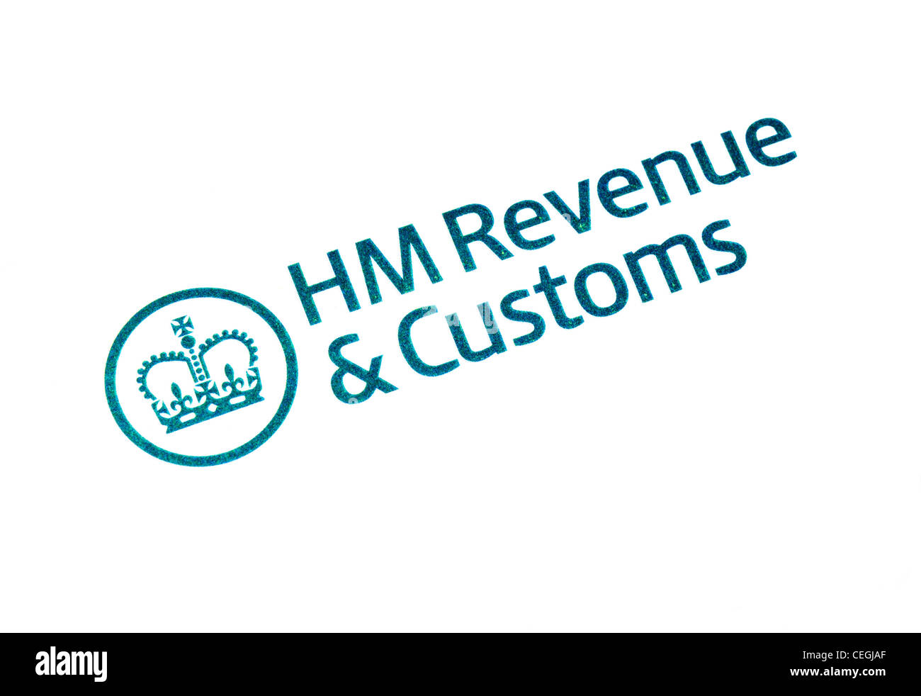 HM Revenue & Customs logo - Stock Image