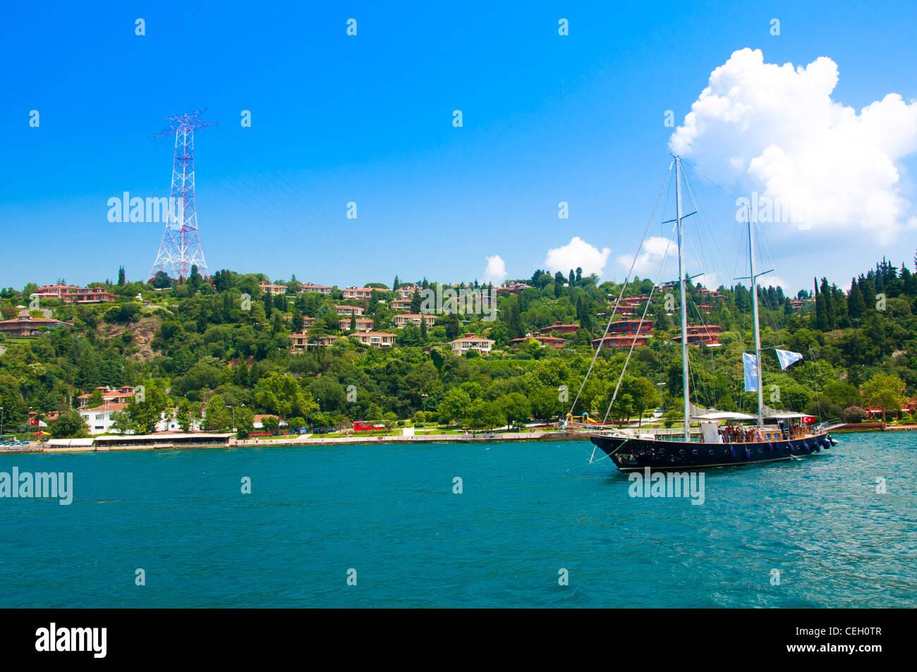 Elite part of Istanbul, Turkey - Stock Image