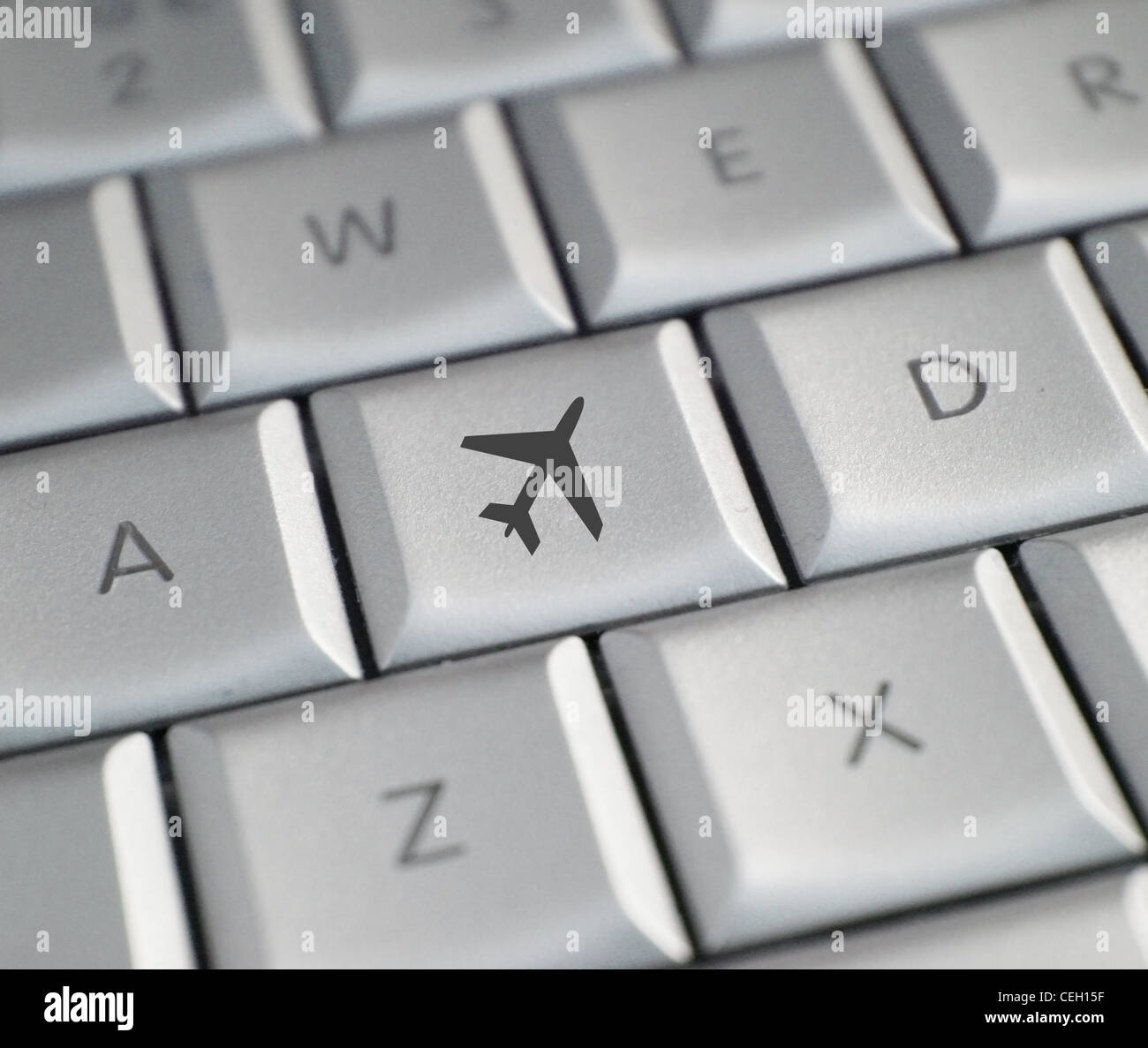 Airplane tickets - Stock Image