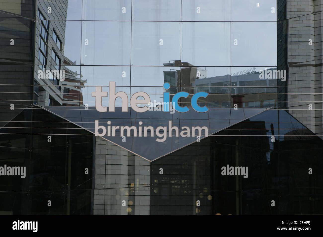 the icc birmingham, icc, uk - Stock Image