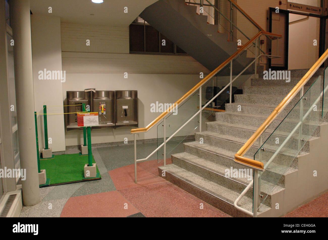 Evolving/Devolving Campus Greenspace Hack at MIT, 2006 - Stock Image