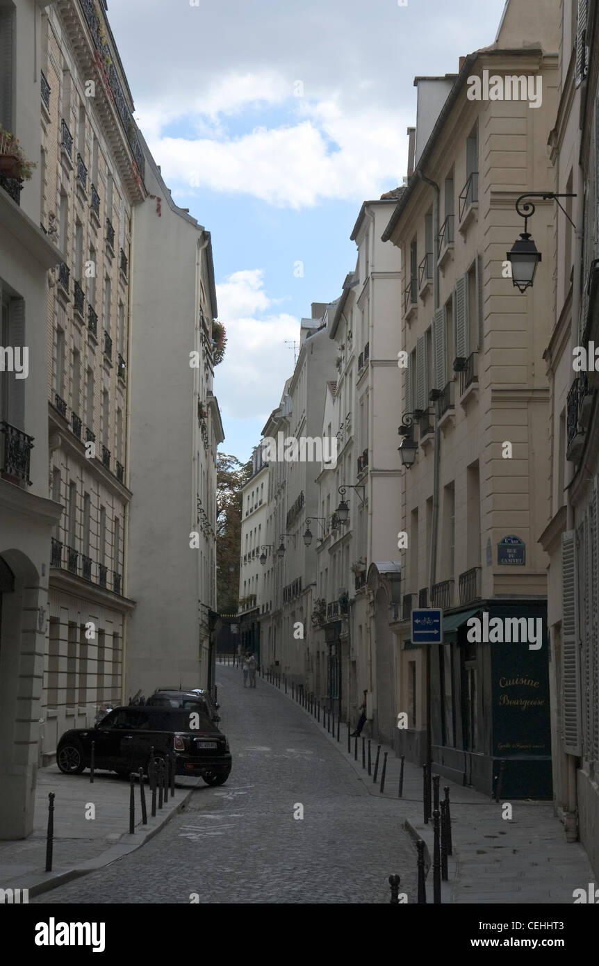 Street in Paris - Stock Image