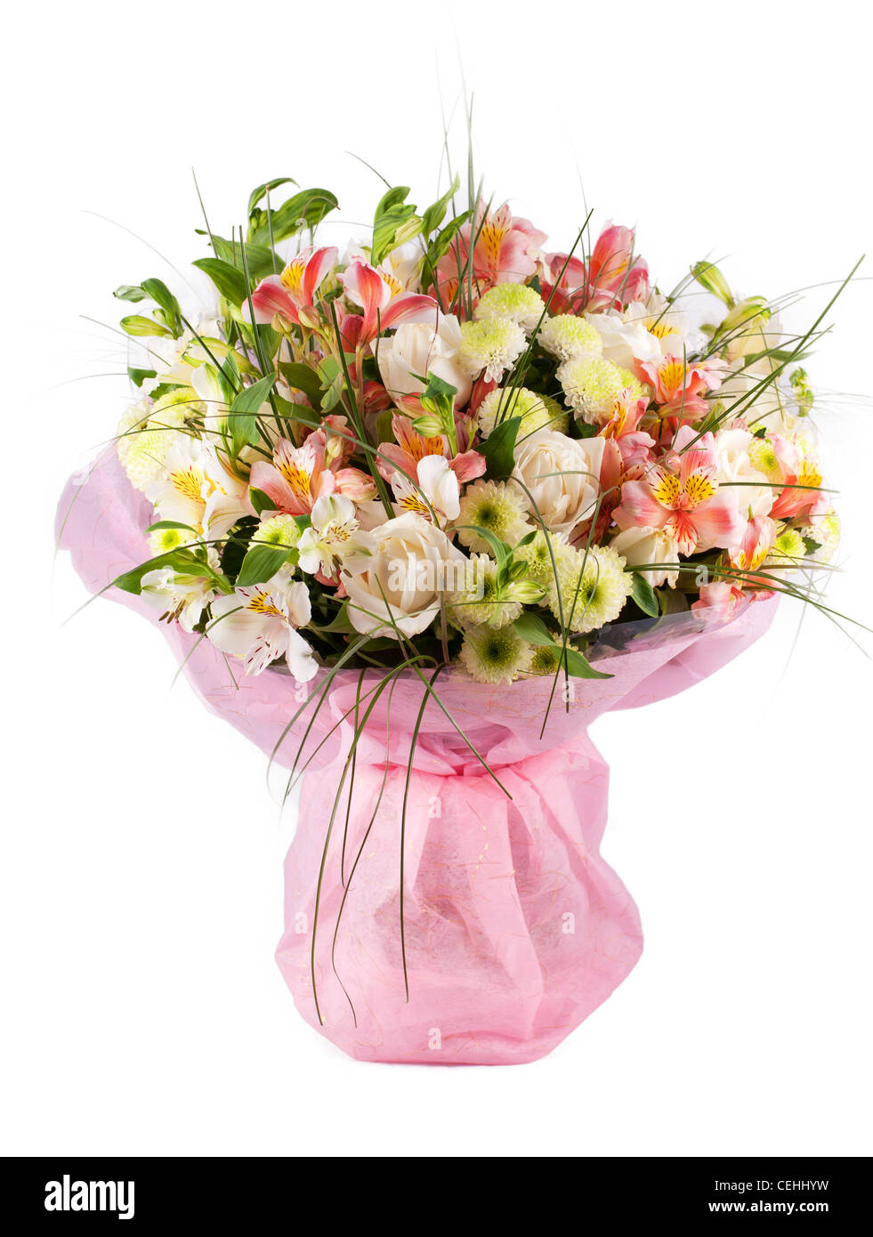 Spring flowers bouquet with a lot of different flowers stock photo spring flowers bouquet with a lot of different flowers izmirmasajfo