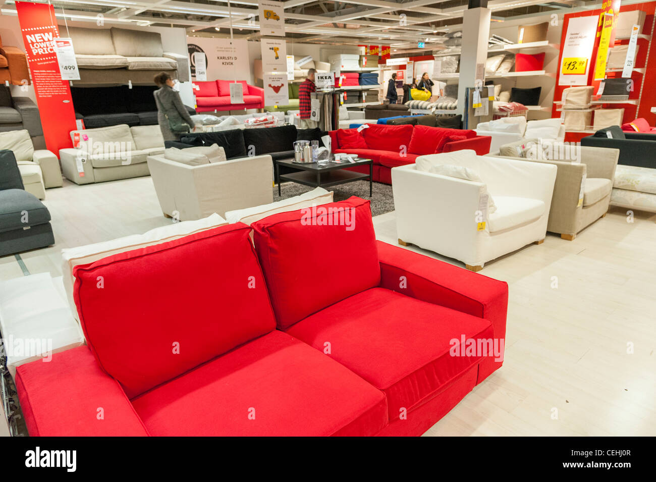 ikea sofa stock photos ikea sofa stock images alamy. Black Bedroom Furniture Sets. Home Design Ideas