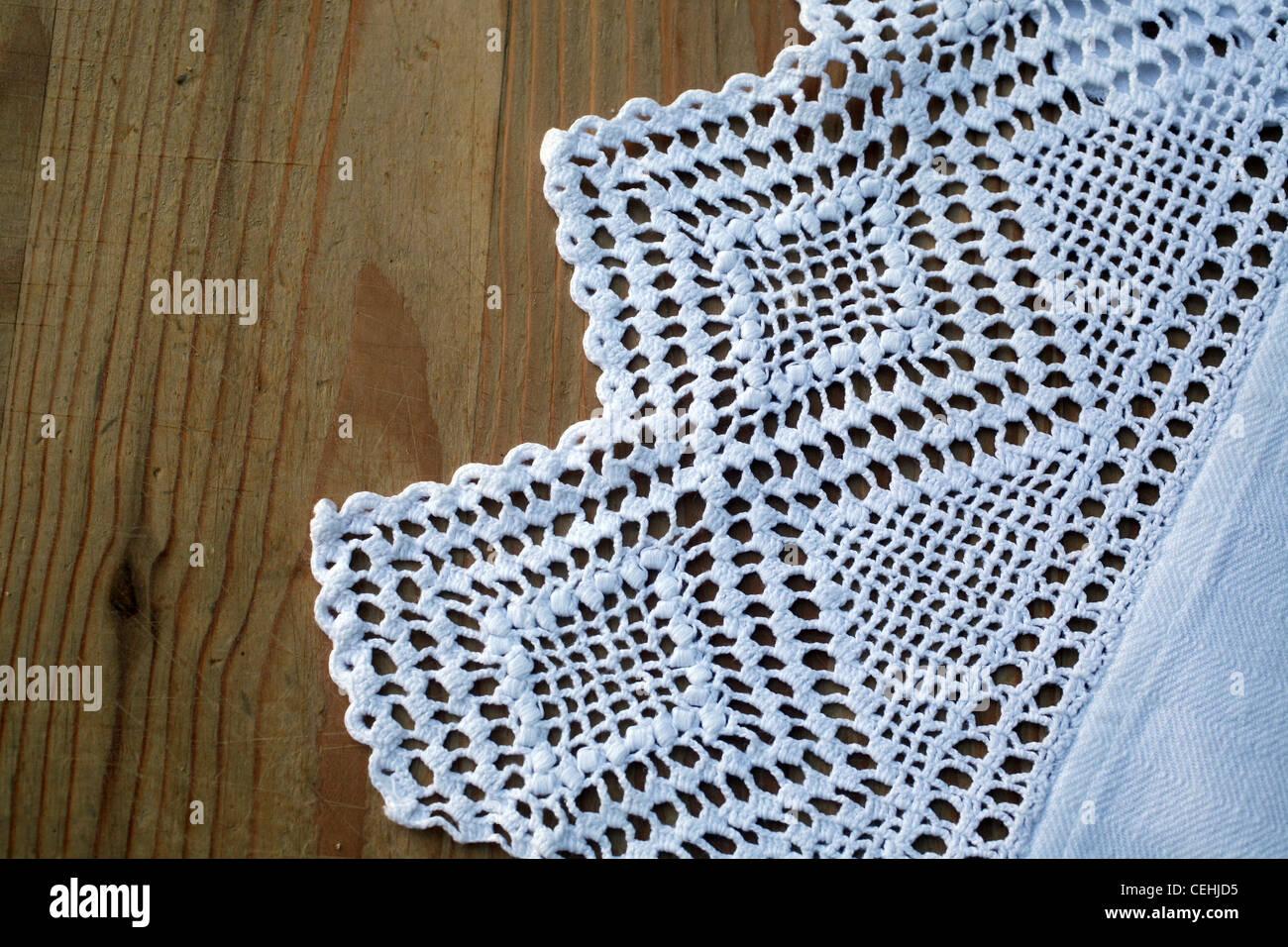Crochet Tablecloth Stock Photos & Crochet Tablecloth Stock Images ...