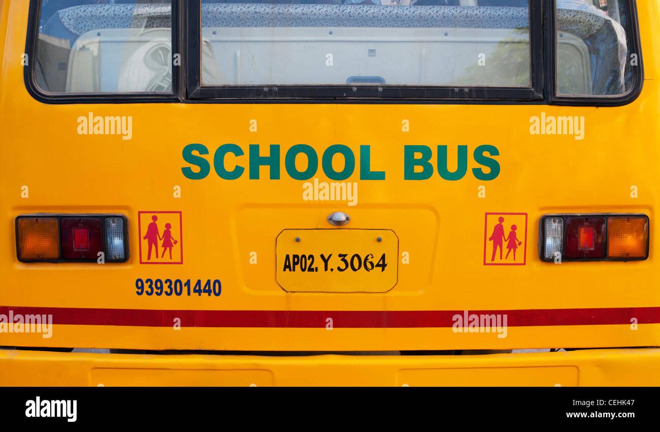 Indian School Bus Stock Photos Indian School Bus Stock Images