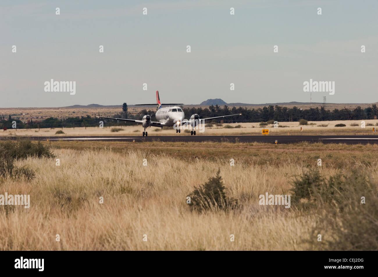 Upington Airport,Northern Cape - Stock Image