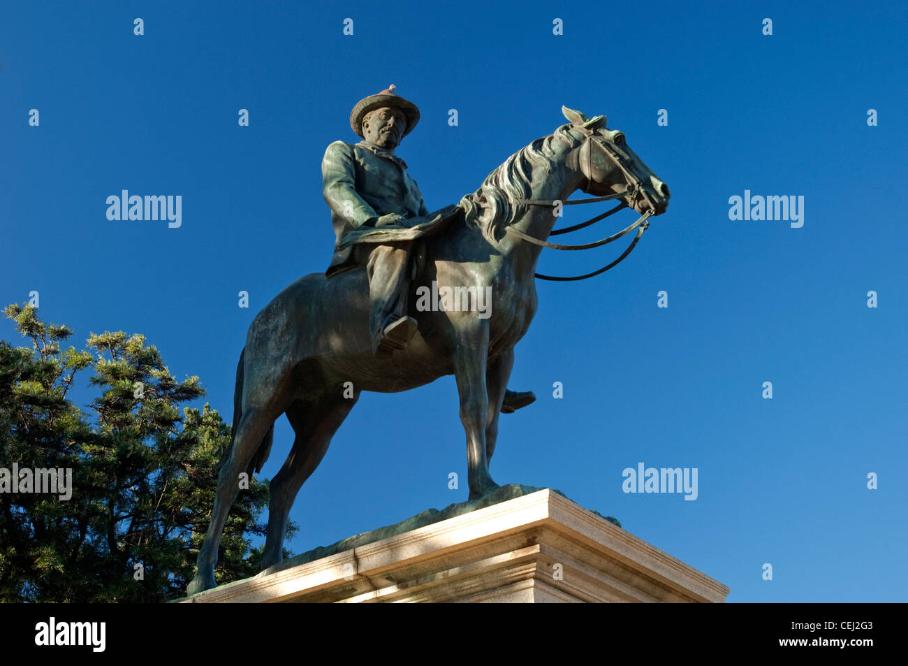 Memorial,Cecil John Rhodes,Kimberly,Northern Cape - Stock Image