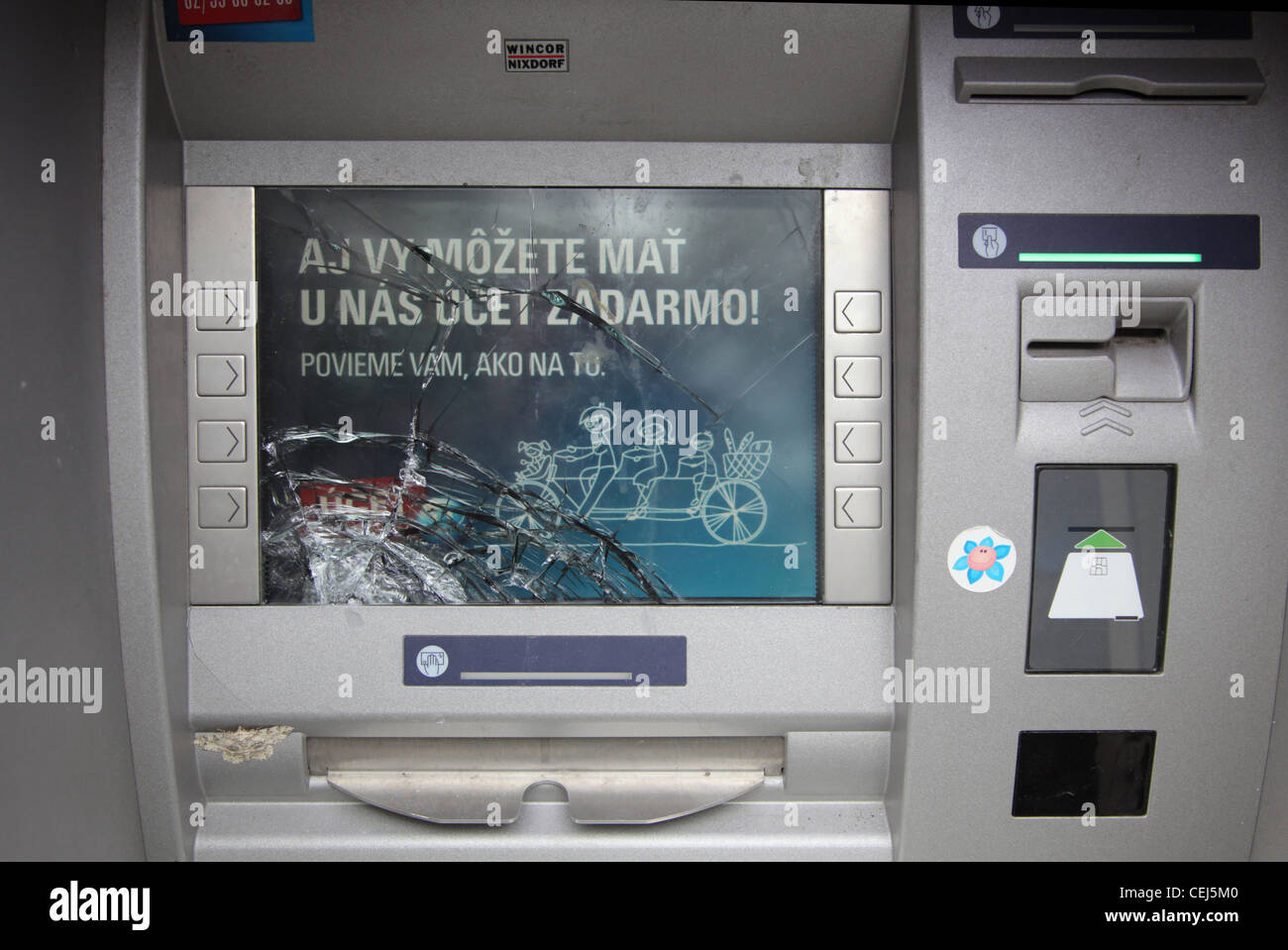 Cash Machine Dispenser Stock Photos & Cash Machine Dispenser